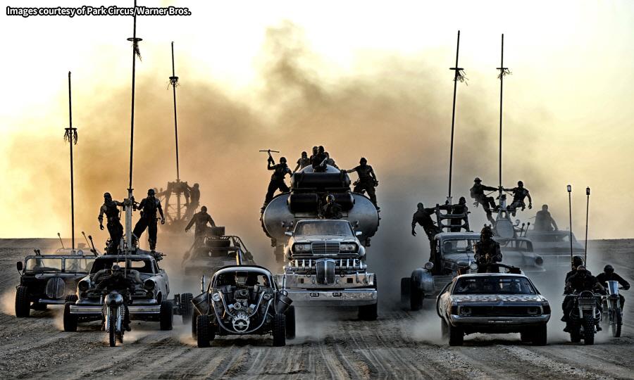 매드맥스: 분노의 도로 블랙 앤 크롬