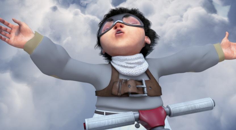 구름 위의 소년